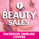 Facebook Timeline Covers - Beauty Sales - GraphicRiver Item for Sale