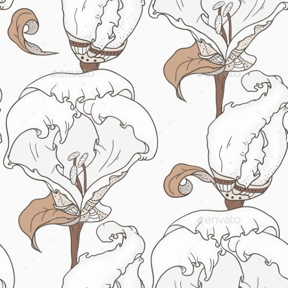 GraphicRiver Floral Pattern 10757846