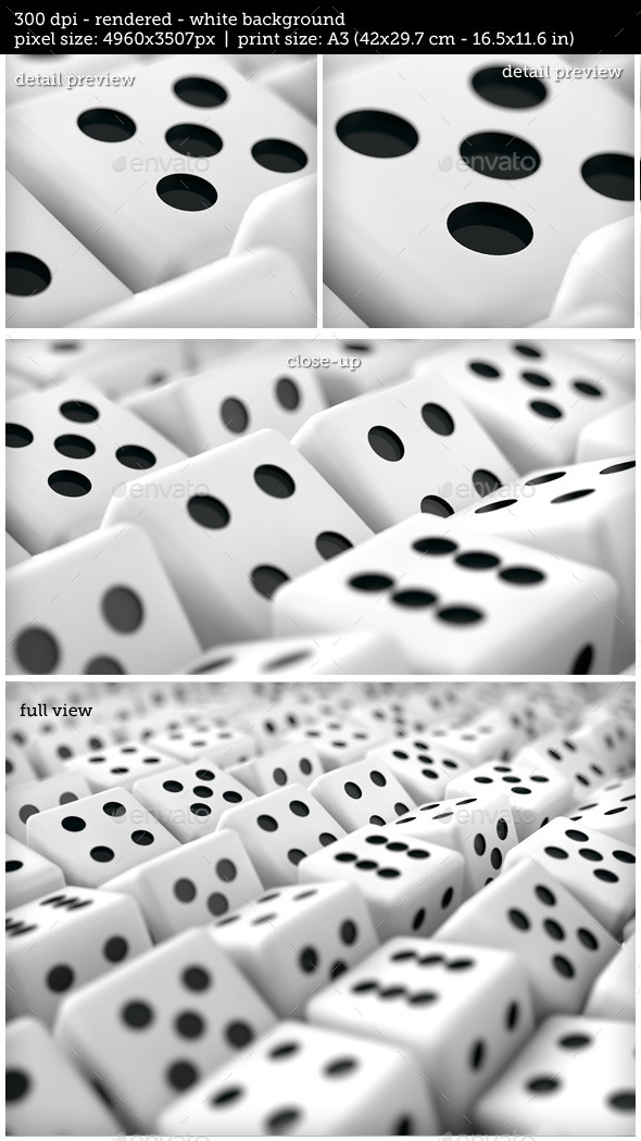 GraphicRiver Multiple Dice Gambling Business Background 10758795