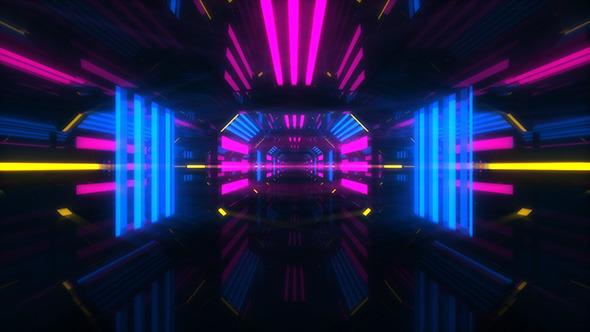 Modern Lights VJ Tunnel