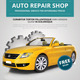 Auto Repair Flyer - GraphicRiver Item for Sale
