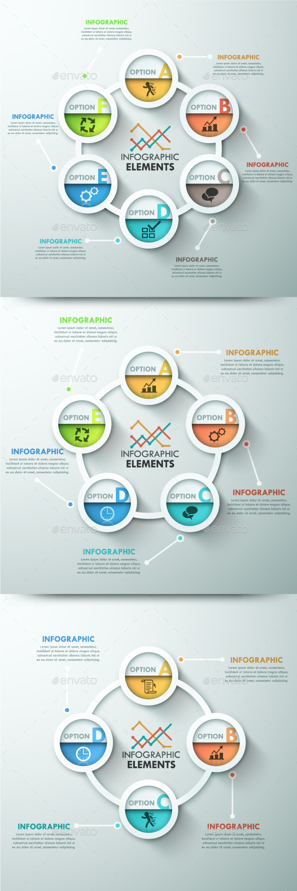 GraphicRiver Modern Infographic Template 3 Items 10759146
