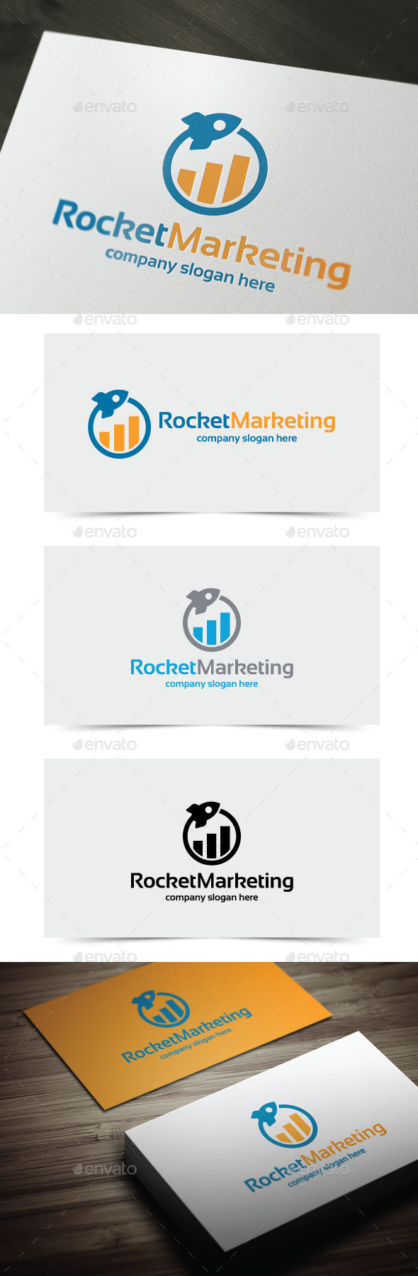 GraphicRiver Rocket Marketing 10759151