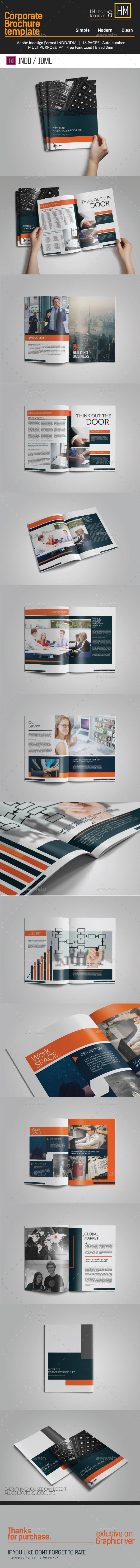 GraphicRiver Minimal Multipurpose Brochure Corporate 10759171