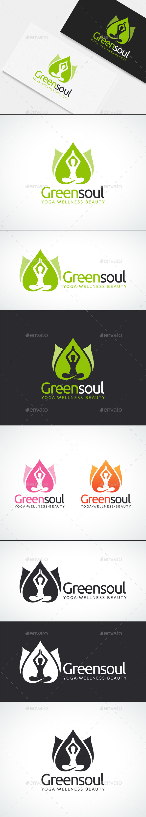 GraphicRiver Yoga Wellness Beauty Logo Template 10759185