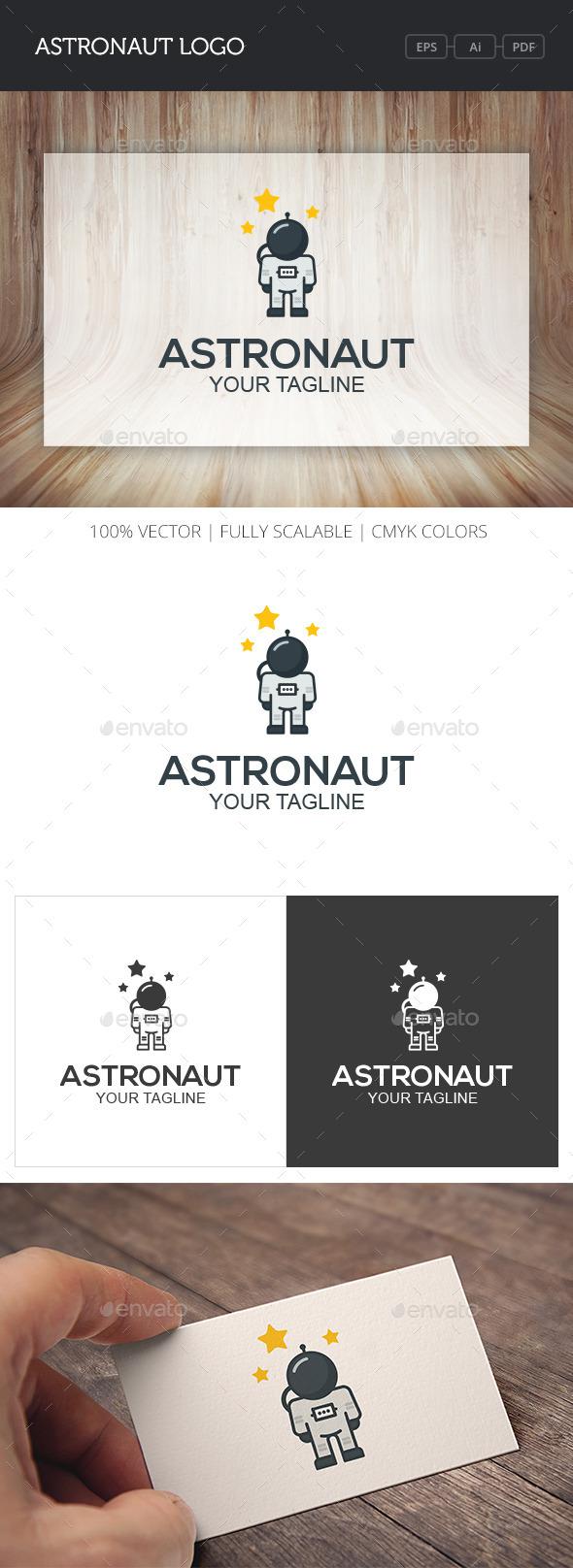 GraphicRiver Astronaut Logo 10759283