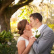 Newly married couple in garden - PhotoDune Item for Sale