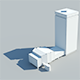 Low poly highrise building - 3DOcean Item for Sale