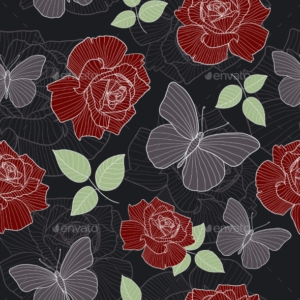 GraphicRiver Floral Pattern 10759567