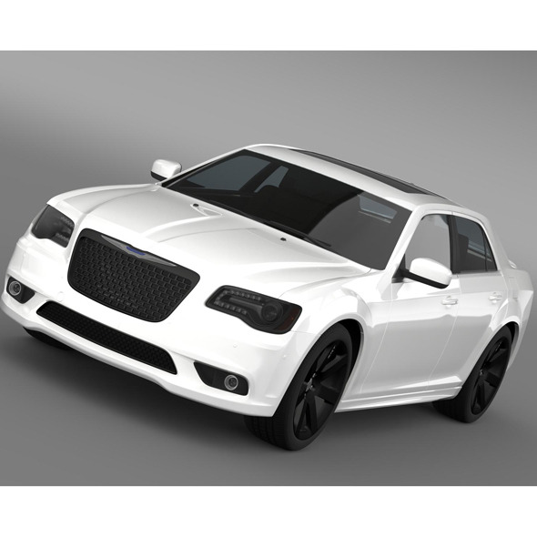 3DOcean Chrysler 300 SRT8 2012 10759627