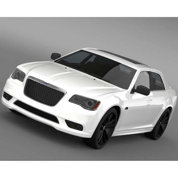 3DOcean Chrysler 300 SRT8 Satin Vapor LX2 2014