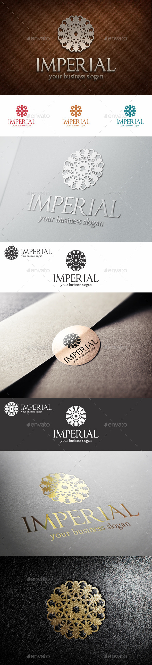 GraphicRiver Imperial Fashion Boutique Hotel Logo 10759830