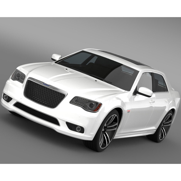 3DOcean Chrysler 300 SRT8 Core 2013 10759905
