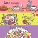 Breakfast Banner Set - GraphicRiver Item for Sale