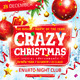 Crazy Christmas Flyer - GraphicRiver Item for Sale