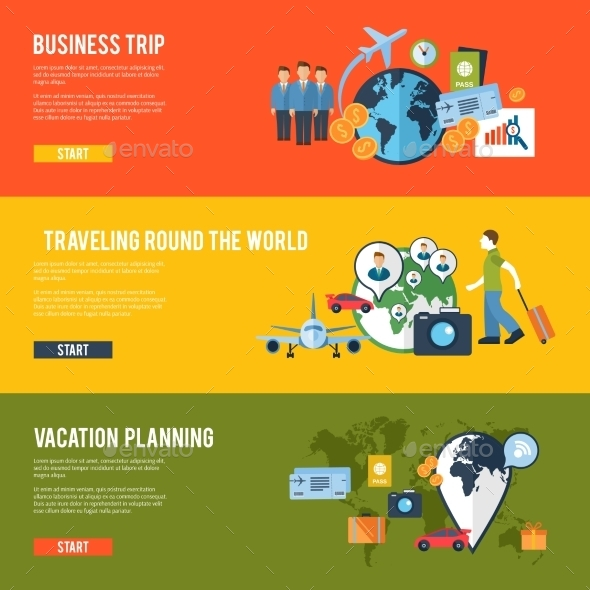 GraphicRiver Travel Concept 10760005
