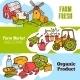 Agriculture Banner Set - GraphicRiver Item for Sale