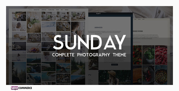 Sunday - A Complete Photographer WP Theme