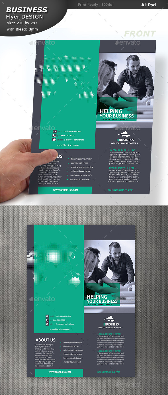 GraphicRiver Corporate Pamphlet Design 10760526