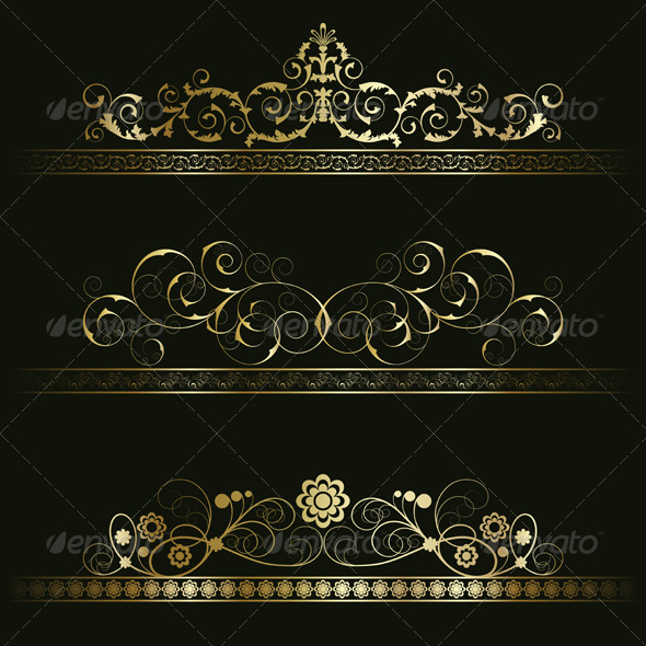 GraphicRiver Set from retro frames 134260