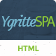 Ygritee beauty spa html template