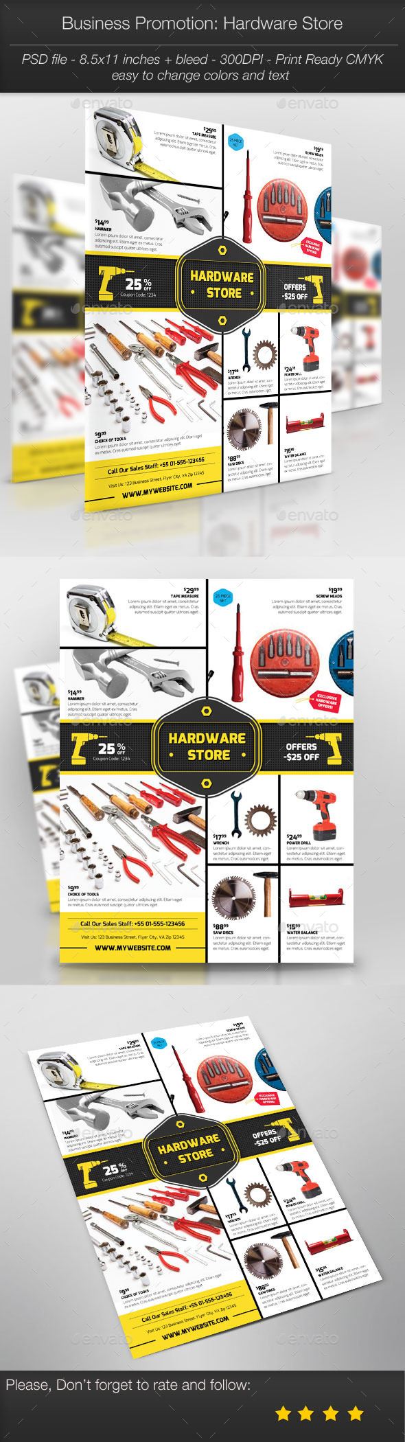 GraphicRiver Business Promotion Hardware Store 10760691