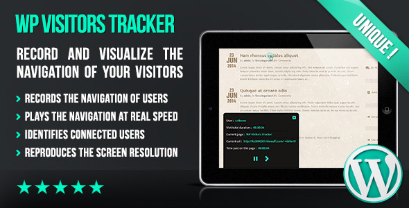 WP Visitors Tracker - CodeCanyon Item for Sale