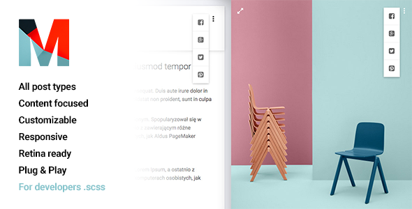 ThemeForest Material Portfolio Tumblr Theme 10703443