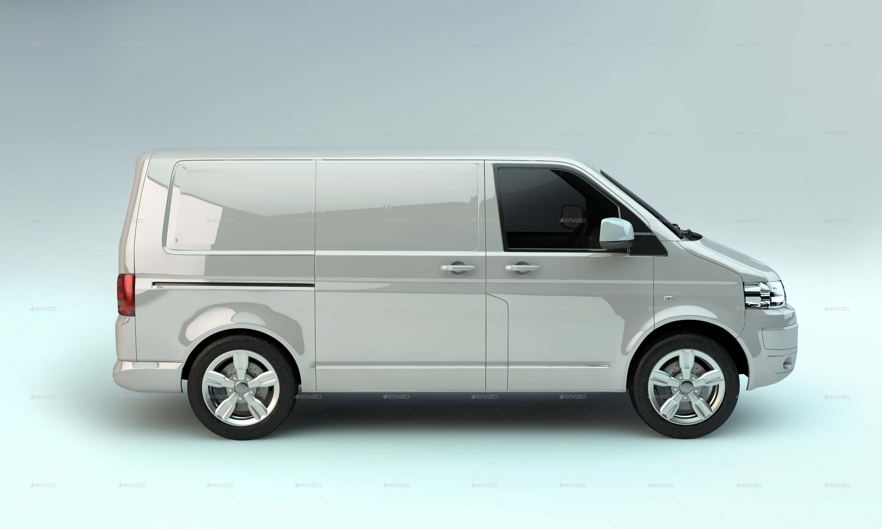 6 Mock up Van 1.0 by Peregrino96 | GraphicRiver