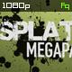 Splatter Megapack - VideoHive Item for Sale
