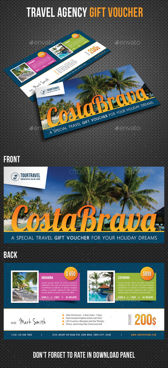GraphicRiver Travel Agency Gift Voucher V02 10761328