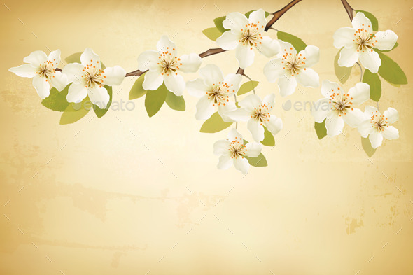 GraphicRiver Spring Background 10761590