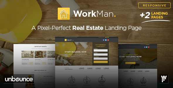 ThemeForest WorkMan Real Estate and Construction Template 10761664