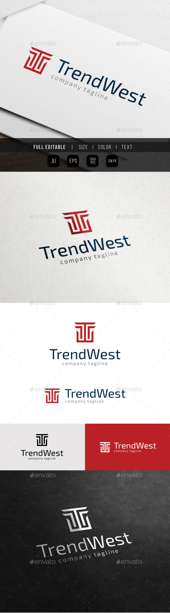GraphicRiver Trending Brand World Letter T 10761677