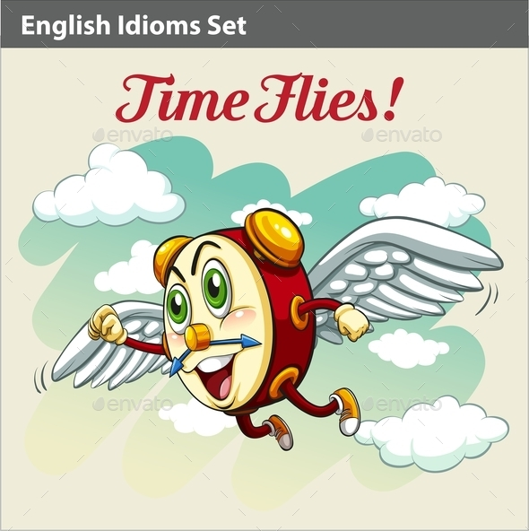GraphicRiver Time Flies 10761692