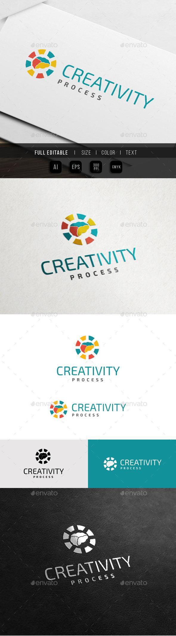 GraphicRiver Creativity Process Brain Load 10761702