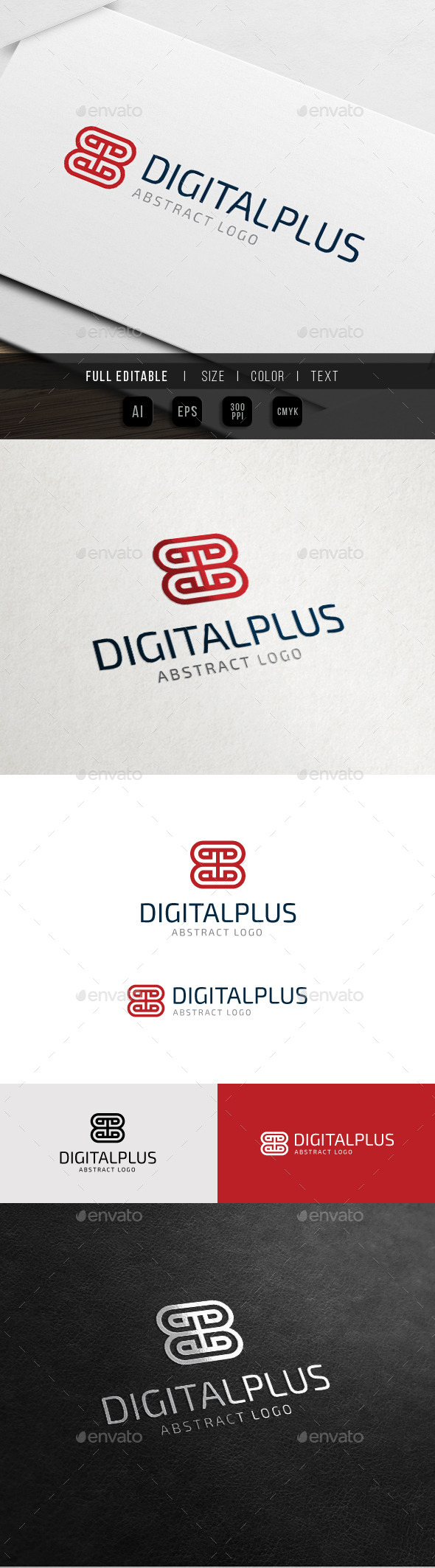 GraphicRiver Abstract Plus Digital Positive D Hotel 10761723