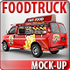 Food Truck Mock-Up. Minibus Eatery Mockup - GraphicRiver Item for Sale