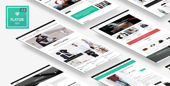 Flatize - Fashion WooCommerce WordPress Theme - WooCommerce eCommerce