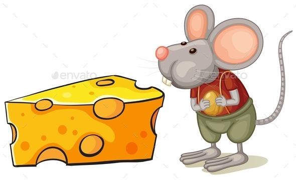 GraphicRiver Cheese and Mouse 10761961