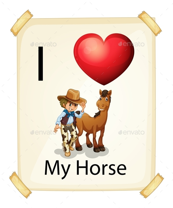 GraphicRiver Love of a Horse 10761967