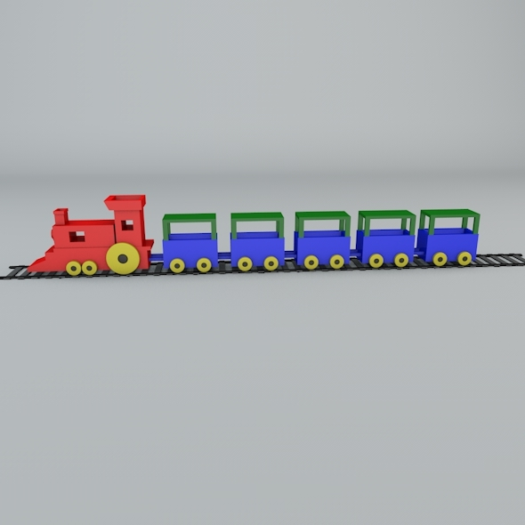 3DOcean toy train 10761984