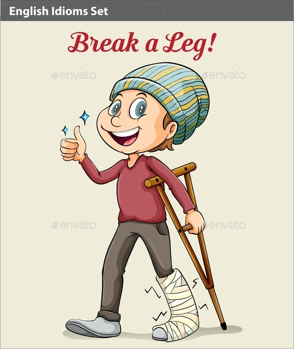GraphicRiver Break a Leg 10761987