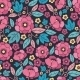 Night Kimono Blossom Seamless Pattern Background - GraphicRiver Item for Sale