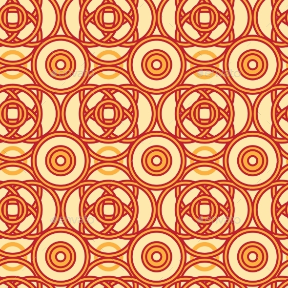 GraphicRiver Magical Celtic Circles Seamless Pattern 10762065