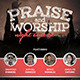 Praise and Worship Concert Church Flyer - GraphicRiver Item for Sale