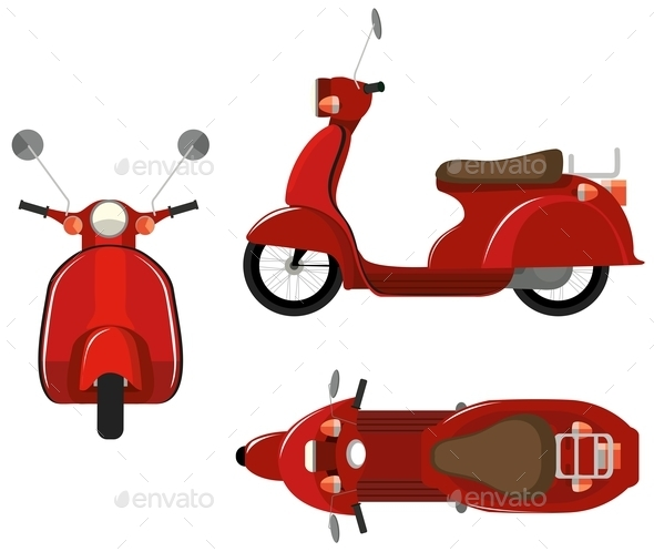 GraphicRiver Scooter 10762670