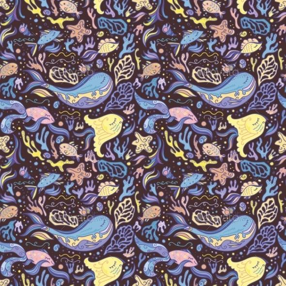 GraphicRiver Fish Pattern 10762938