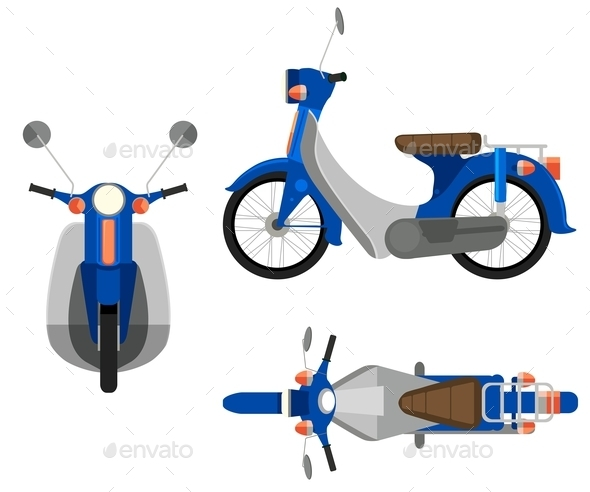 GraphicRiver Motorcycle 10763124