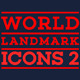World Landmark Icons - Vol. 2 - GraphicRiver Item for Sale